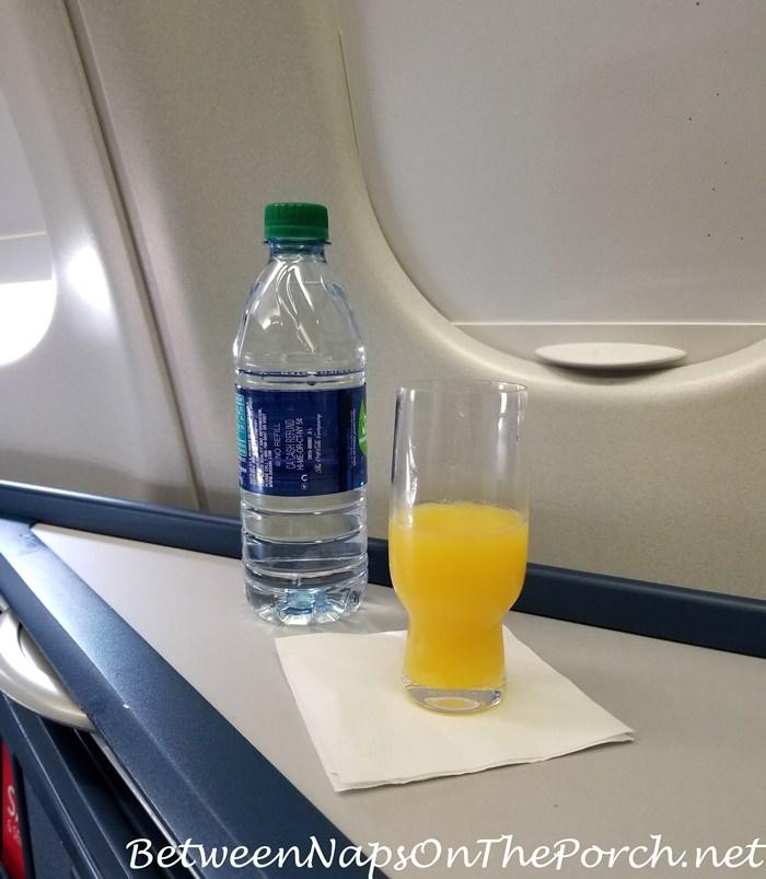 Pre-flight Drink, Delta