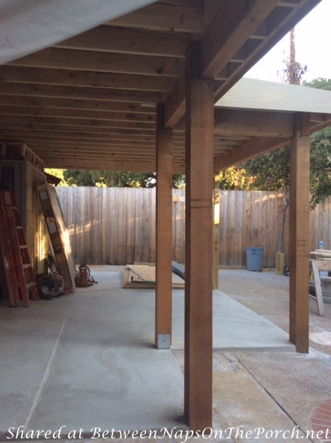 Replacing Patio with a Screened Porch