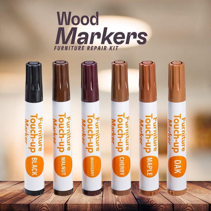 Wood Markers, Repair Kit for Wood Furniture