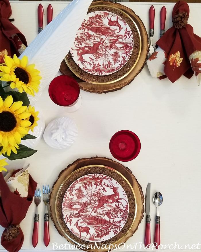 Autumn Dinner with Noritake Xavier Gold Dinnerware