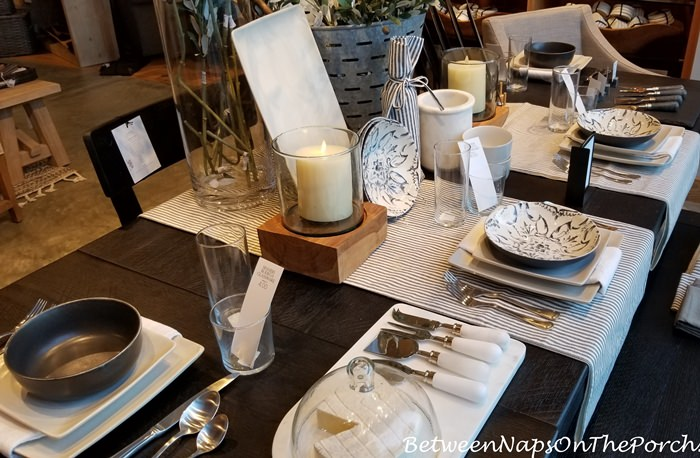 Black & White Dinnerware