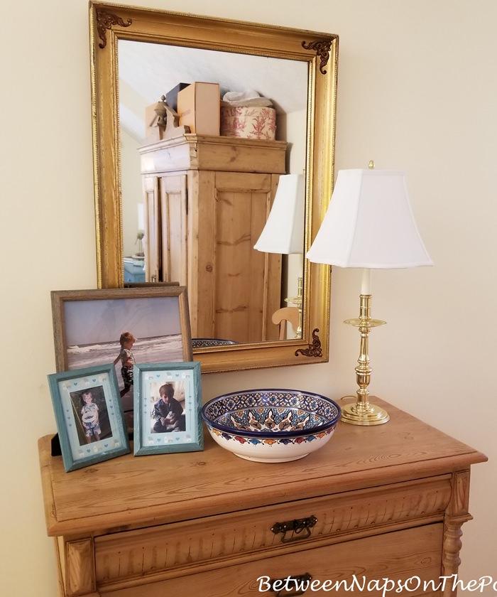 Brass Candlestick Lamp