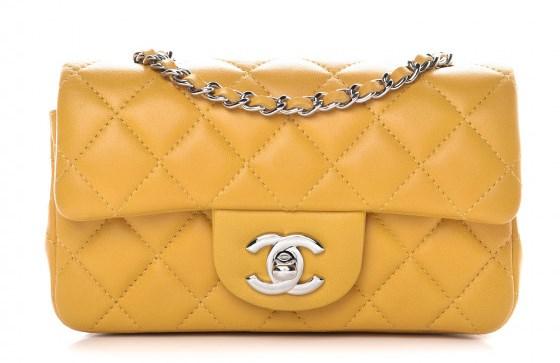Chanel Mini Bag on Sale, Yellow