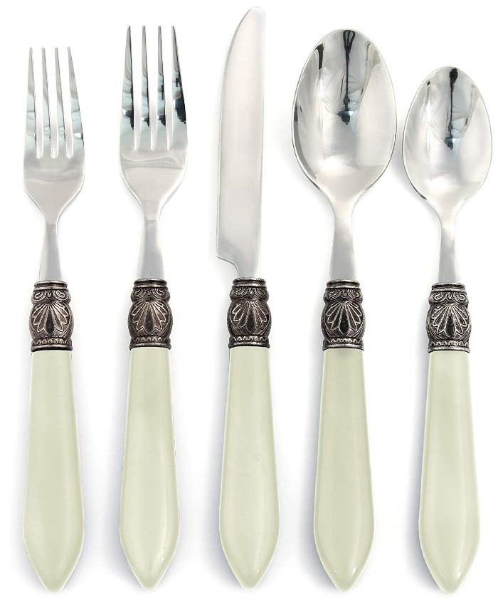 Flatware with Shell Design