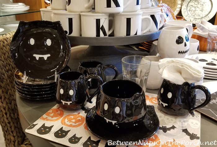 Halloween Dishes, Pottery Barn