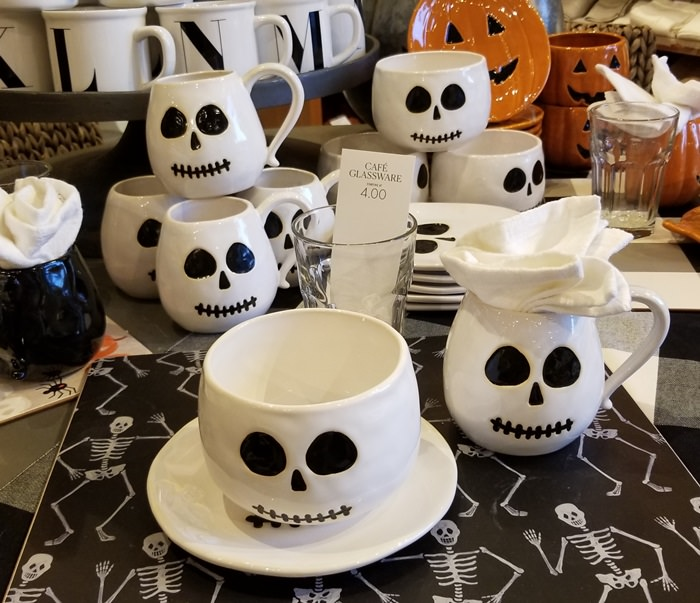 Halloween Dishware, Pottery Barn