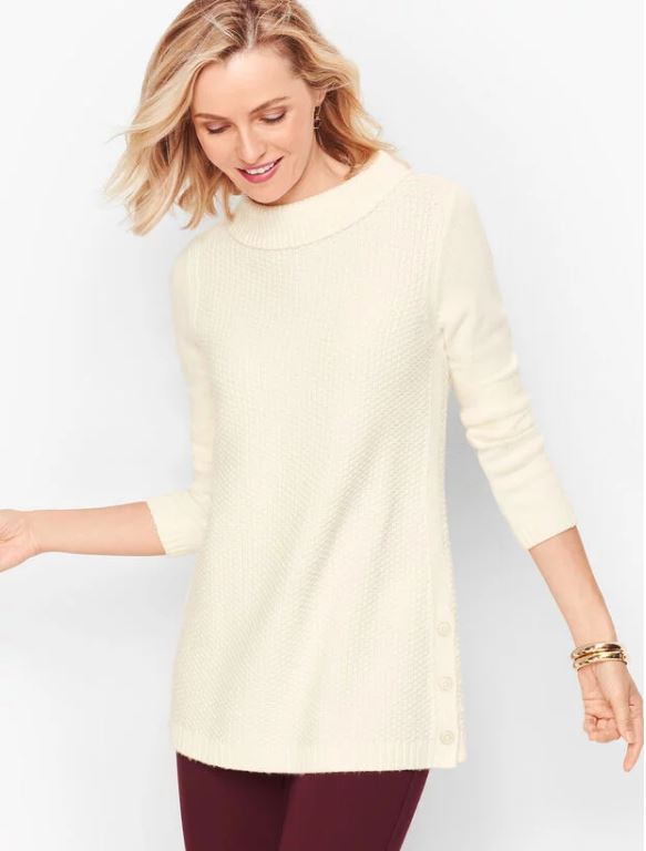 Ivory Cream Sweater