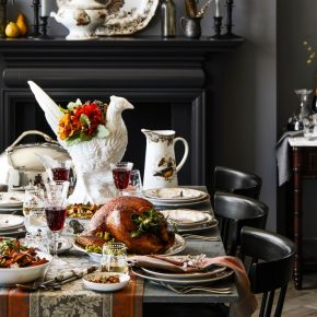 Pheasant for Thanksgiving Table Centerpiece