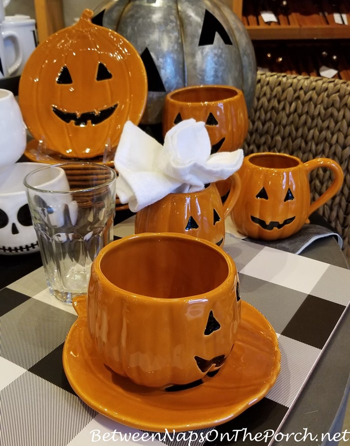 Pumpkin Dinnerware for Autumn