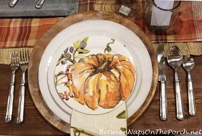 Pumpkin Dinnerware for Halloween and Thanksgiving
