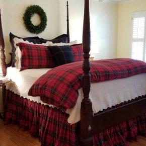 Tartan Bedding for Fall, Winter