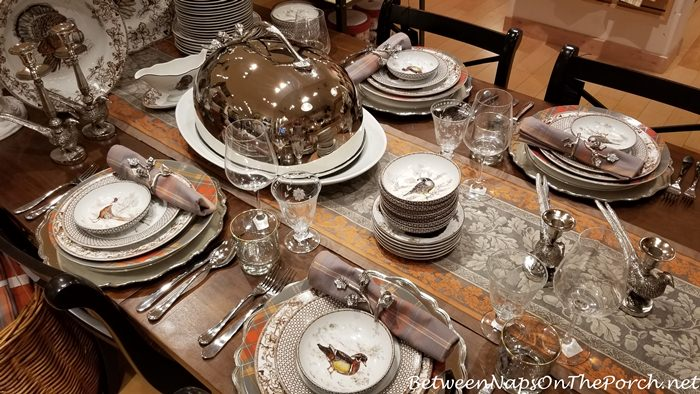 Woodland Birds Autumn Dinnerware