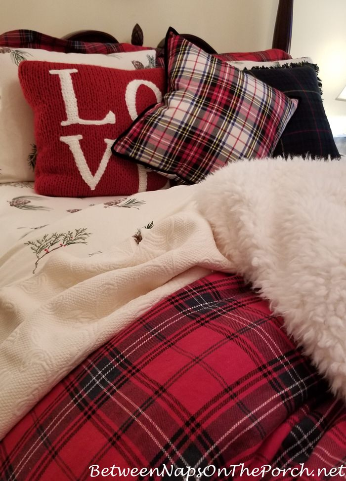 Cozy Winter Bedding, Tartan and Flannel