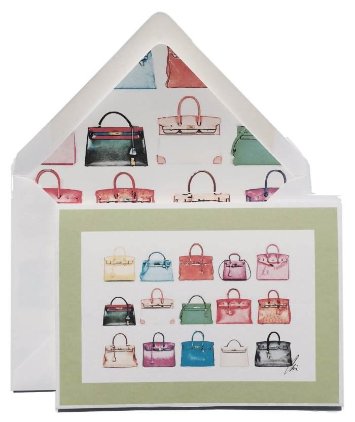 Greeting Cards for Handbag Lovers, Hermes