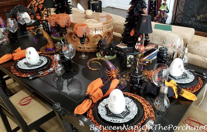 Halloween Table Setting, 2019