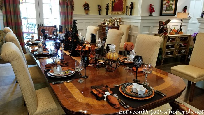 Halloween Tablescape Ideas, 2019