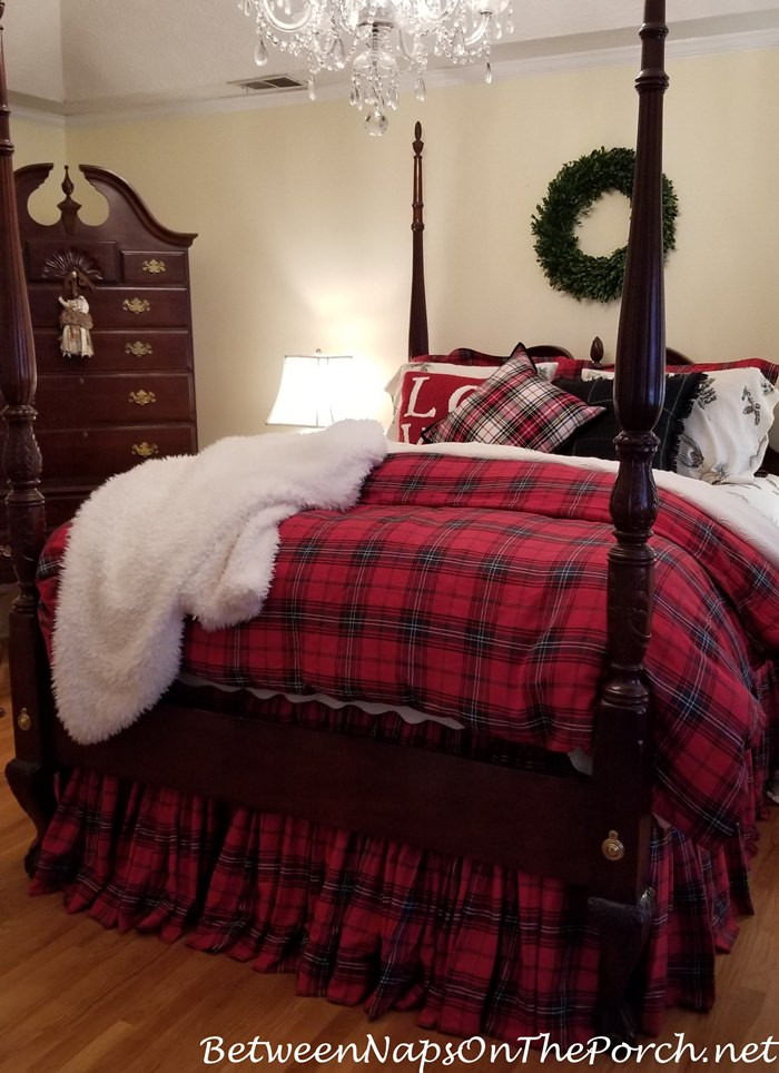 Tartan Plaid Bedding, Fall Winter Bedding