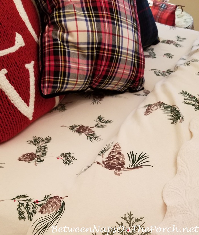 Woodland themed bedding, Flannel Bedding