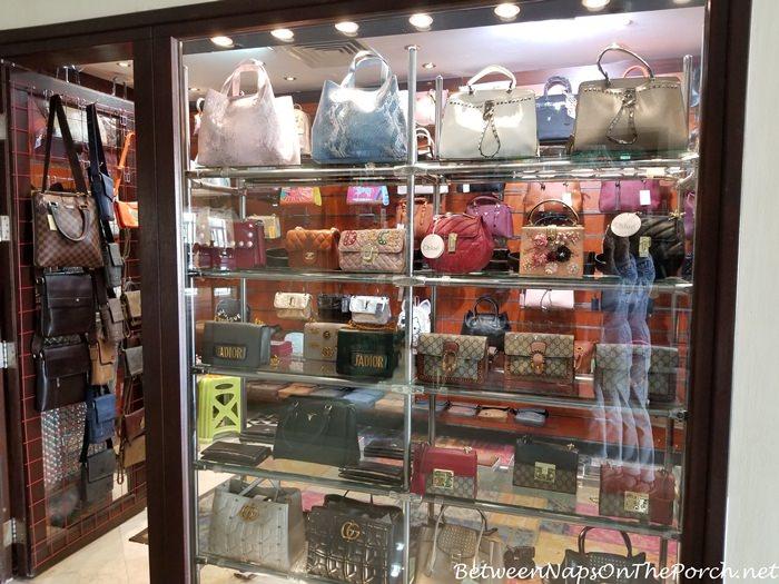 Fake Designer Handbags Being Sold in Steigenberger Aldau