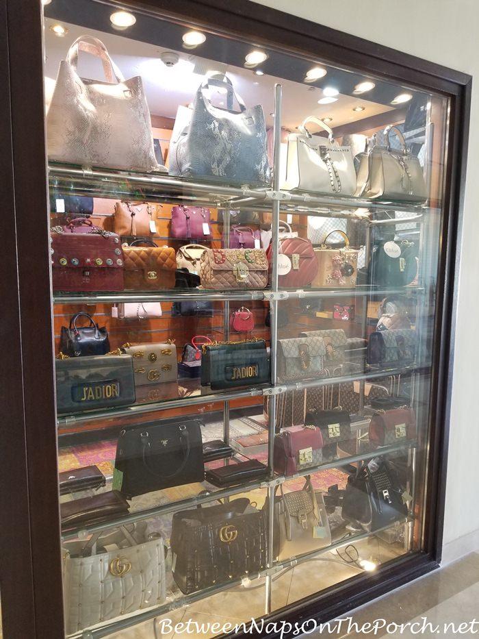 Fake Gucci, Chanel, Dior Bags for Sale, Steigenberger Aldau Hotel, Egypt