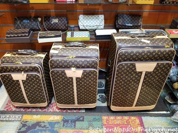 Fake Counterfeit Louis Vuitton Suitcases