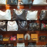 Fake Louis Vuitton bags for sale, Steigenberger Aldau Hotel, Egypt