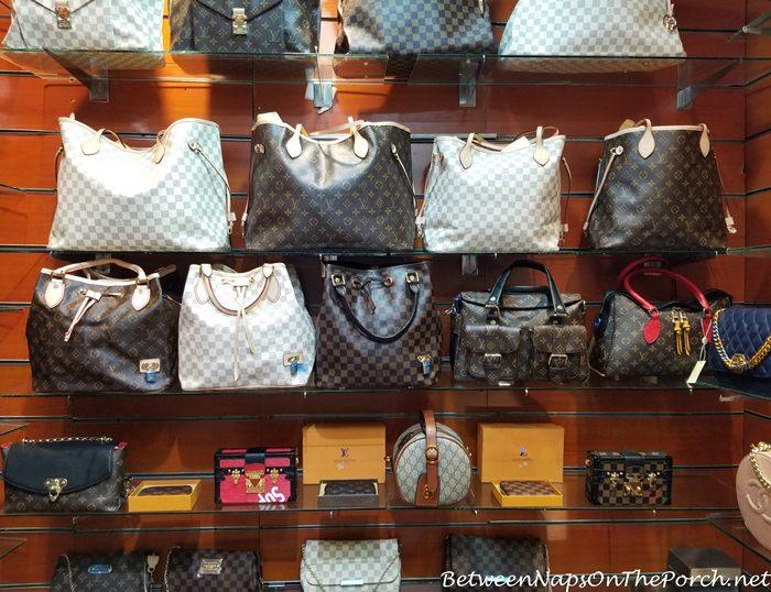 Fake Louis Vuitton bags for sale, Steigenberger Aldau Hotel, Egypt