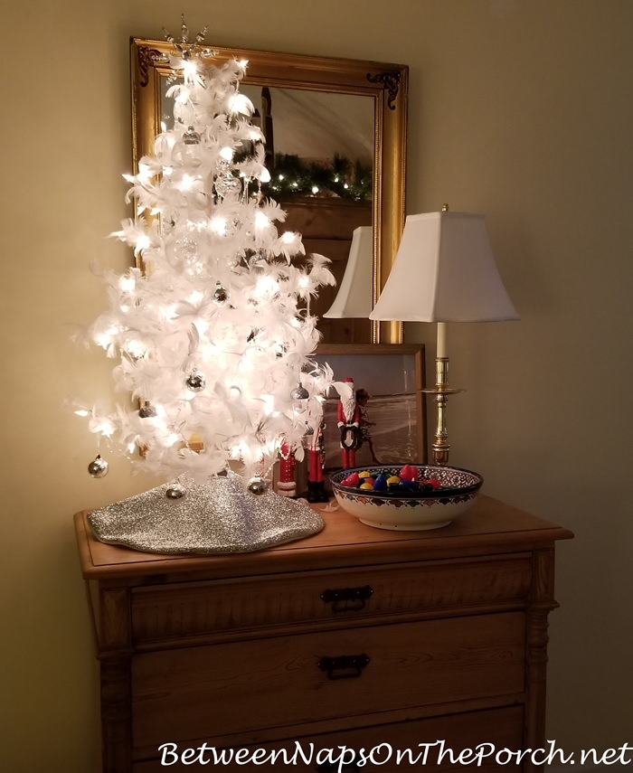 Feather Tree for Christmas