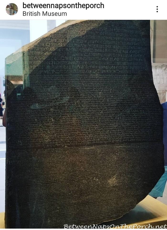 Rosetta Rosetta Stone, The British Museum