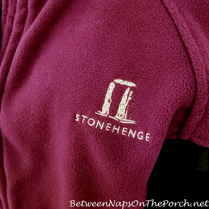 Stonehenge Souvenir, Fleece Jacket