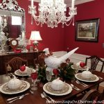 Thanksgiving Table Setting Idea, Featuring Spode Woodland & Pheasant, Magnolia, Nandina Centerpiece
