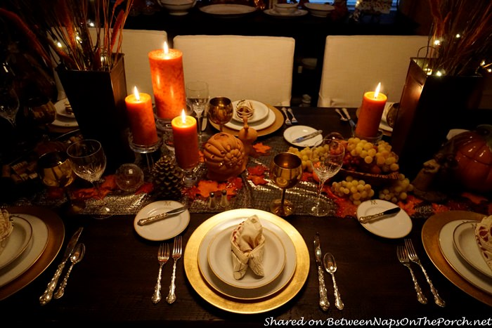 Thanksgiving Tablecape by Candlelight