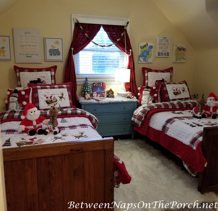 A Children's Bedroom Makeover for Christmas