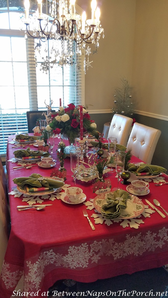 A Christmas Tea Party