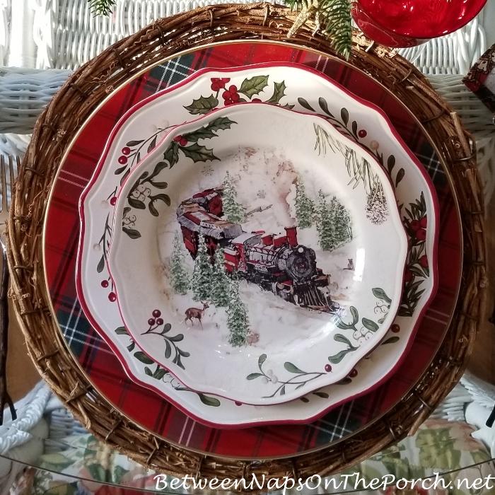 Better Homes and Gardens Christmas China, Christmas Train