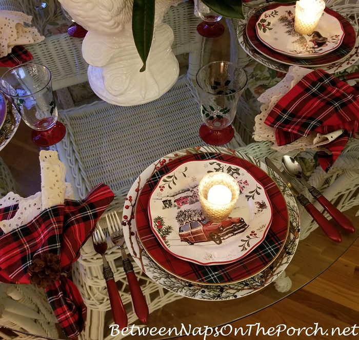 Candlelight Dining, Christmas Tablescape