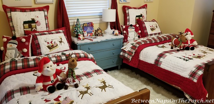Christmas Bedroom Makeover for Children