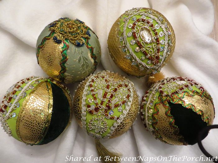 Christmas Ornaments Made by Hands