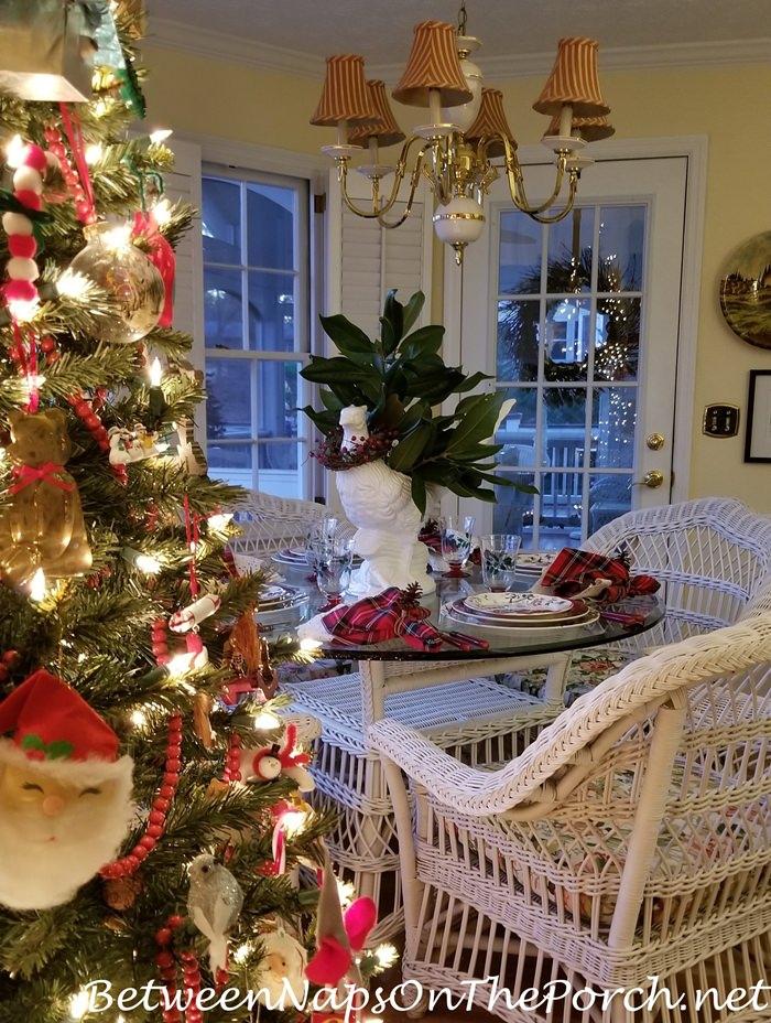 Christmas Table, Christmas Tree