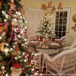 Christmas Tablescape with Better Homes & Gardens Train Christmas Plates