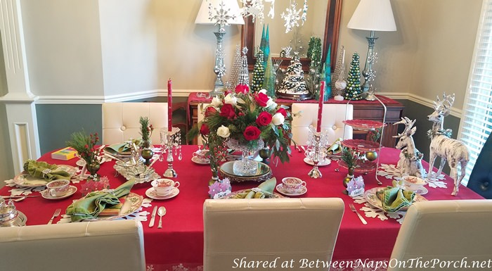 Host a Christmas Tea Party