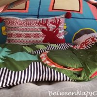 Dinosaur Sleeping Bag for Overnight Stay
