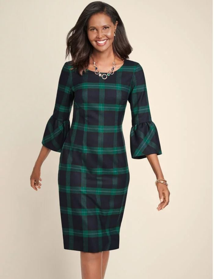 Dress in Blackwatch Plaid for Holidays