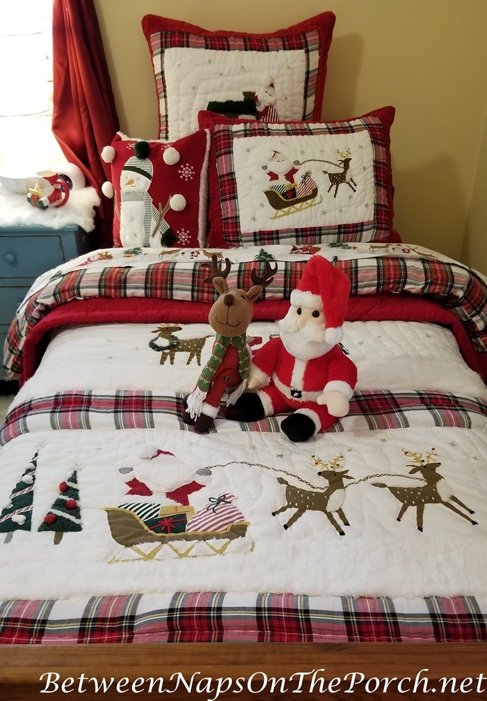 Holiday Christmas Bedding, Children's Bedding
