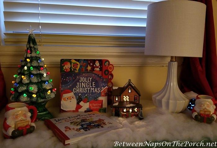 Lit Ceramic Christmas Tree, Lit Dept. 56 A Christmas Story House
