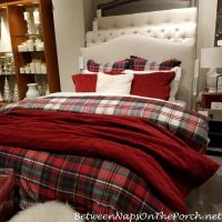 Plaid Bedding Duvet for Winter and Holidays