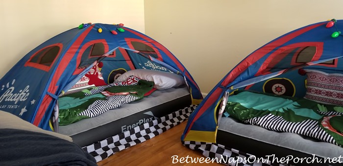 Racing Car Sleeping Tents for Kids