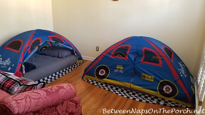 Sleeping Tents for Grandchildren, Great for Holiday Visits
