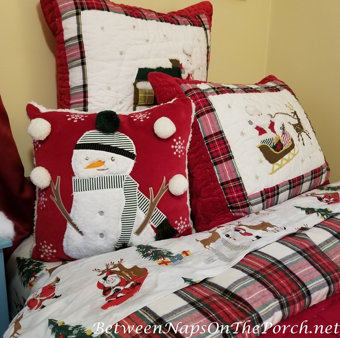 Snowman Snowball Pillow for Child's Room