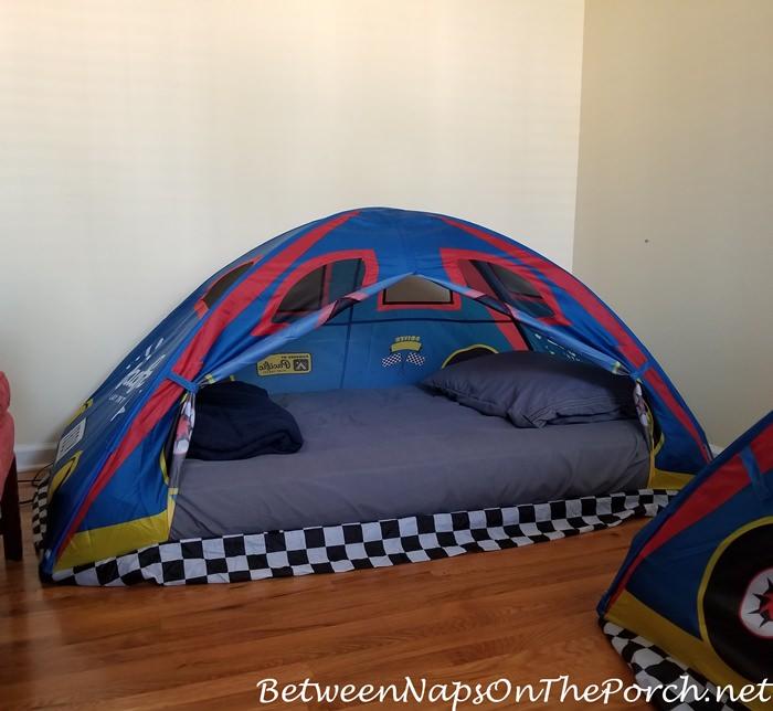 Tent Beds for visiting Grandchildren